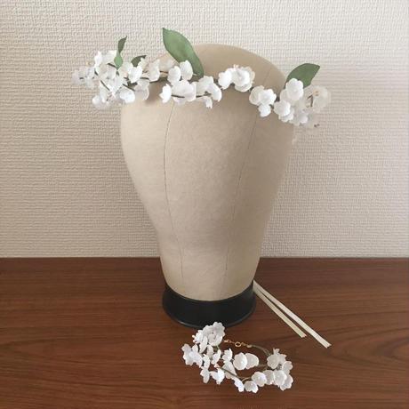 【オーダー】リースになる花かんむり〈すずらん〉