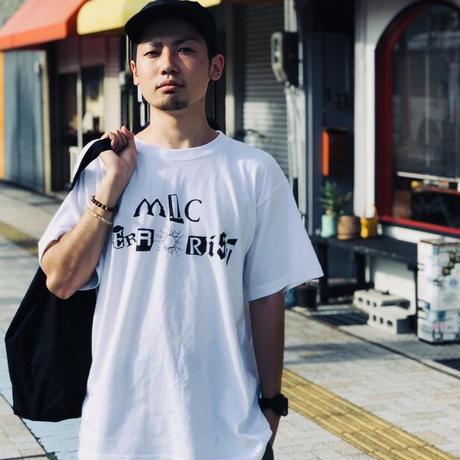 【予約販売】MIC TERRORIST Tシャツ BLACK