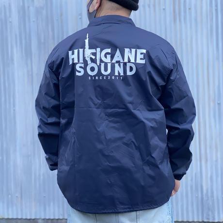 HIKIGANE  SOUND  LOGO コーチジャケット