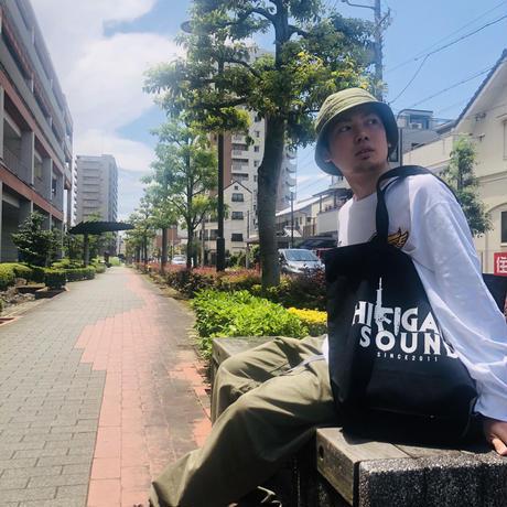 HIKIGANE SOUND LOGO TOTE BAG(ステッカー付)