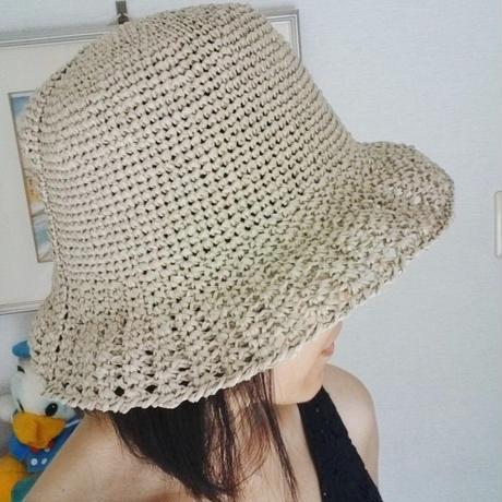 洗える夏用帽子
