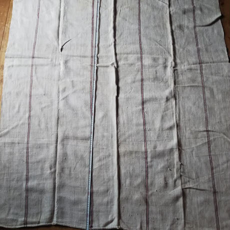 ヘンプの手織りシーツ