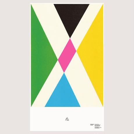 mountain Poster / four seasons(額代込)