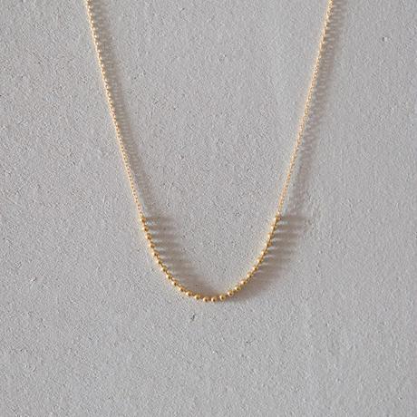 Ball chain  U  necklace