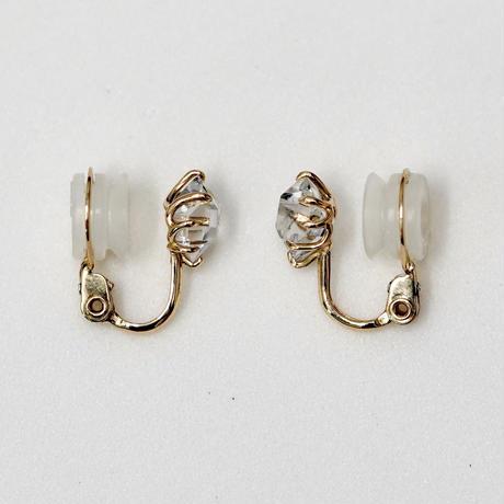 Harkimer diamond earrings / M