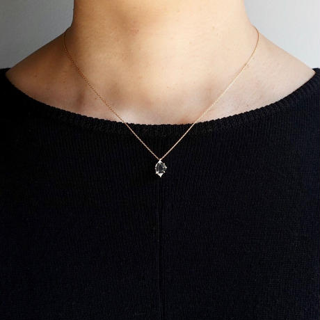 Harkimer diamond necklace / M