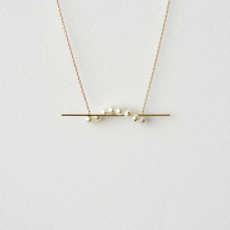 Rasen necklace / pearl