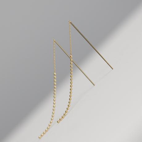 Couture ball chain pierce