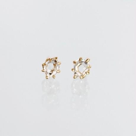 Harkimer diamond pierce / S