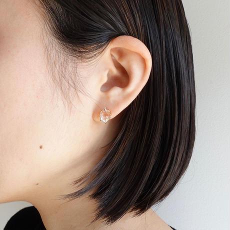 Harkimer diamond pierce / L