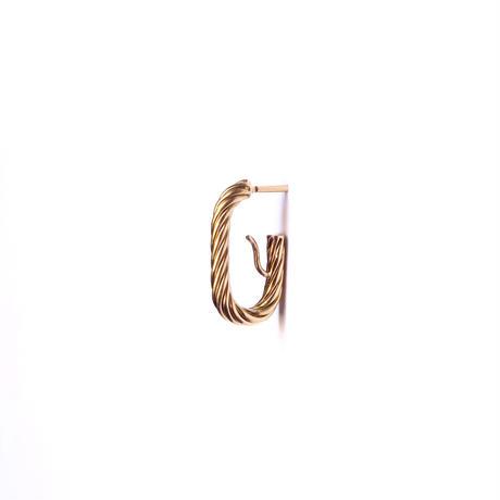 Rope  pierce / single / fray