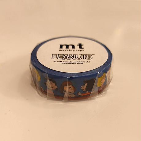 mt Peanutsみんなでおしゃべりマスキングテープ