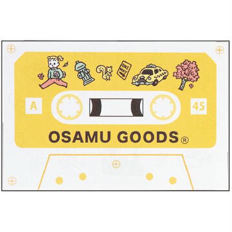 【OSAMU GOODS】カセットテープメモ(トラベル) 学研ステイフル