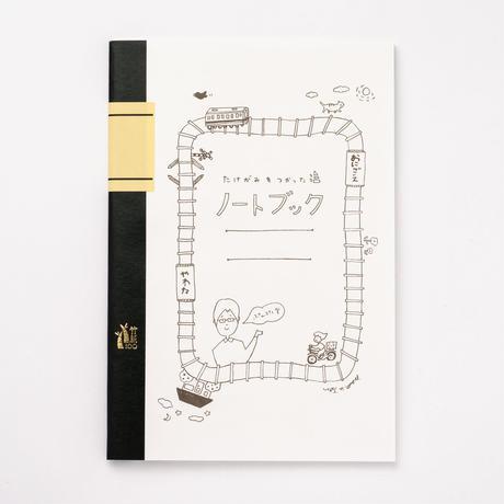 【ぷんぷく堂】A5サイズ竹紙100ノート ホワイト