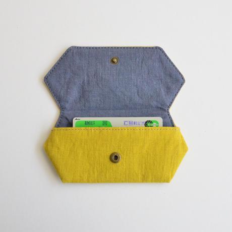 TETOTE カードケース origami 遊ぼうよ マスタードイエロー