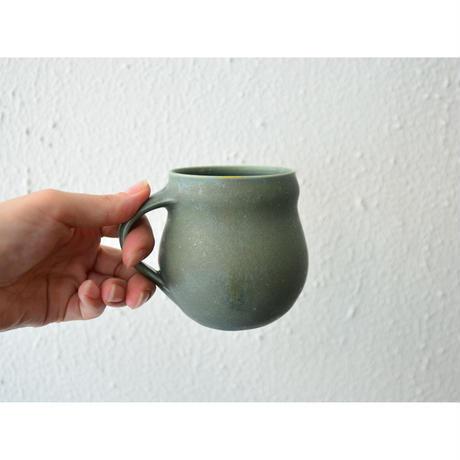 古谷朱里 マグカップ ブルー スノーマン