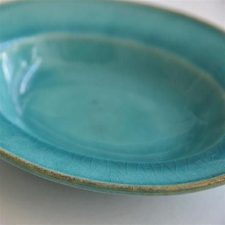 Awabi ware 楕円小皿 トルコ