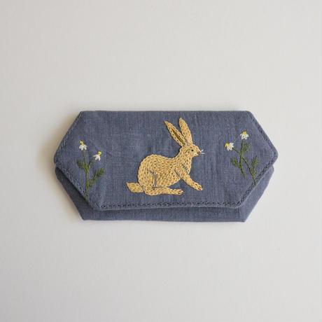 TETOTE カードケース origami 耳をすませば 青紫