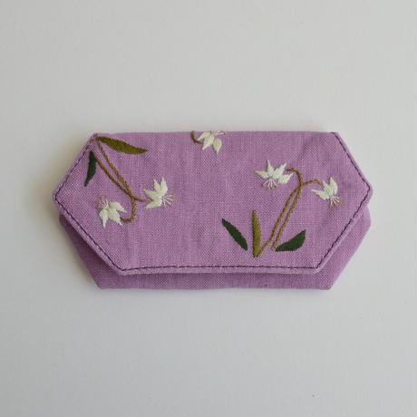 TETOTE カードケース origami カタクリ ラベンダー