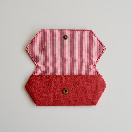 TETOTE カードケース origami こっちだよ くすみピンク