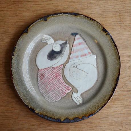 yukie sinbasi マルプレーン皿 『form』 a