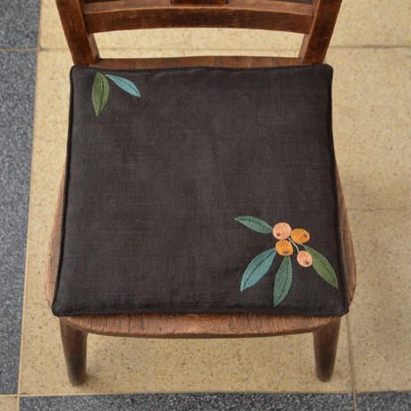 TETOTE 椅子敷き 小 ビワ 茶