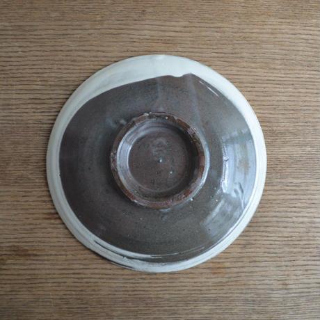 高木剛 刷毛目 皿 5寸