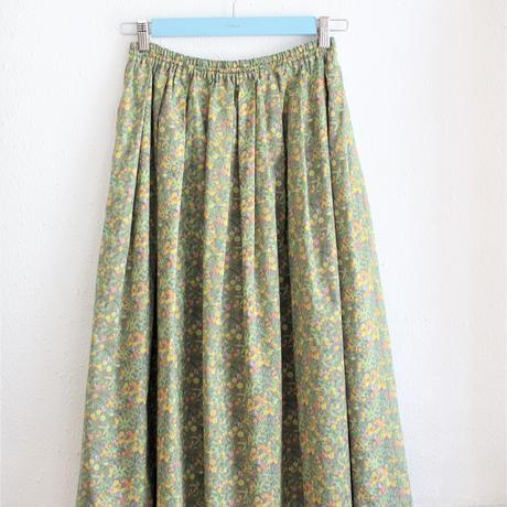 VANILLA  タックギャザースカート たんぽぽ