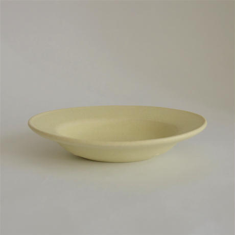 Awabi ware 楕円小皿 アイボリー