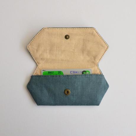 TETOTE カードケース origami おるすばん スモーキーブルー