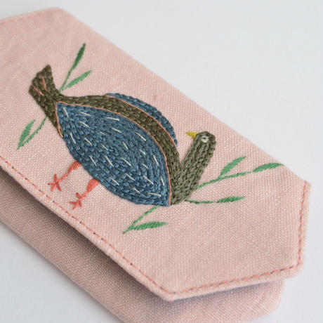 TETOTE カードケース origami かくれんぼ 薄ピンク