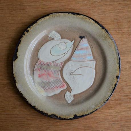 yukie sinbasi マルプレーン皿 『form』   c