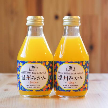 温州みかんジュース(180㎖)×6本入り