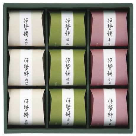伊勢餅6ケ入(白ごま、小豆、濃茶)(加藤清芳園)