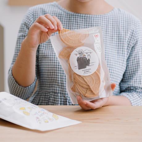 湯の花せんべいBIG缶(おしゃまな湯の花せんべい5袋入り)online限定価格
