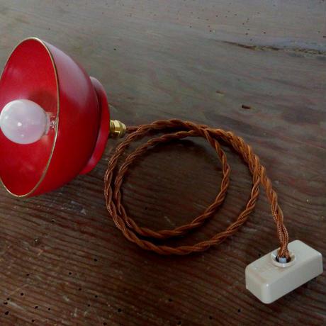 お椀ランプ(朱)