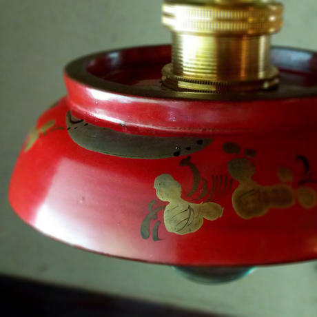 お椀ランプ(朱・太鼓)