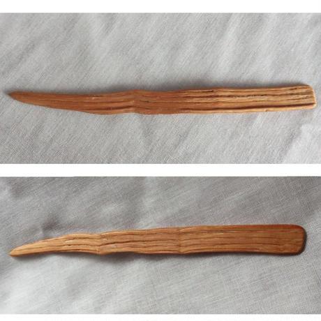 薪から生まれたペーパーナイフ no.04
