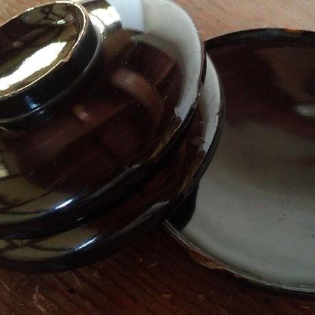 お椀ランプ(黒・茶)