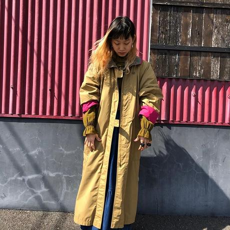 COLOR DESIGN LONG COAT [S-0030]