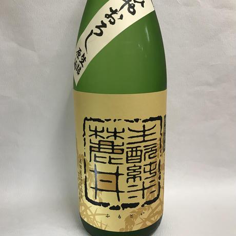 麓井 きもと純米原酒 はえぬき ひやおろし 1800ml