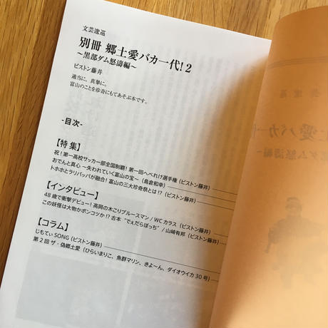 別冊 郷土愛バカ一代!2〜黒部ダム怒濤編〜【新本】