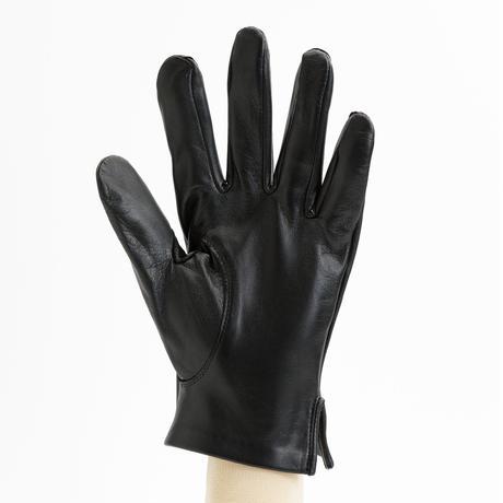 抗菌革・抗菌防臭裏生地を使用した革手袋(紳士用)クロ