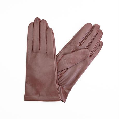 抗菌革・抗菌防臭裏生地を使用した革手袋(婦人用)ワイン
