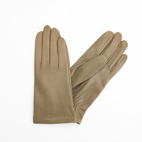 抗菌革・抗菌防臭裏生地を使用した革手袋(婦人用)グレージュ