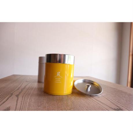 珈琲缶 (白色・黄色)
