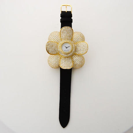 Camellia Watch-Gold