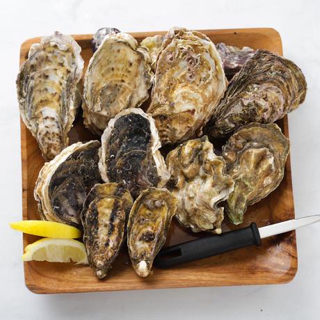 """""""おうち時間""""真牡蠣&岩牡蠣産地食べ比べセット  自宅でoysterbarセット"""