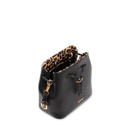 """アニー ディー バケツバッグミニ「ブラックレオ」ANY DI Bucket Bag Mini""""Black Leo"""""""
