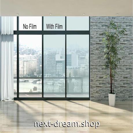 ウィンドウティントフィルム ライトブルー VLT 可視光透過率75% ナノセラミック 60×100cm 車や家の窓ガラスに m03148